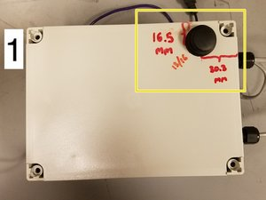Autosampler Battery Enclosure Assembly (For Old & New Versions)