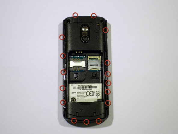 For this step a matal spudger is used to release the clips along the bottom, top, and sides of the phone.