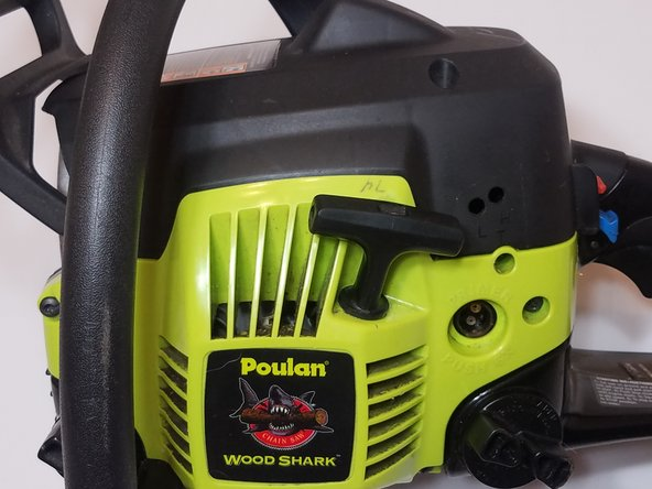 Poulan P3314 2-Cycle Chainsaw: Replace Primer Bulb, Fuel Lines, and Filters