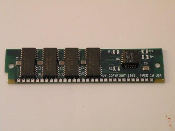 1st Photo: The RAM Module