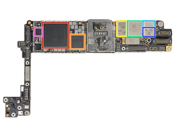 Drumroll please—it's chip time! Special thanks to the folks at TechInsights for helping scope out this silicon: