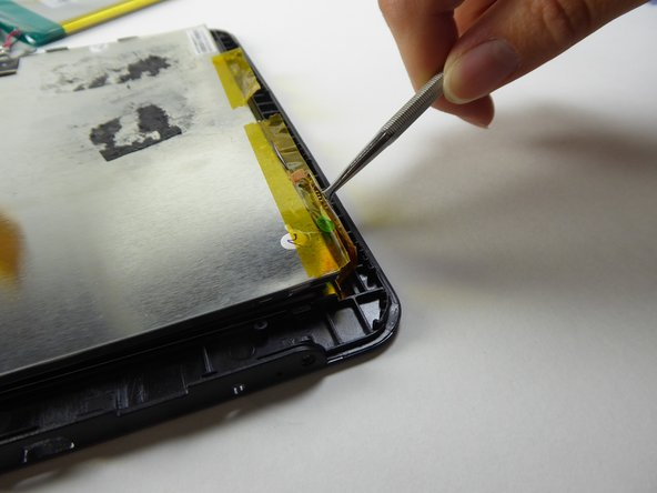 Be careful on this step - the screen is fragile and can break easily.