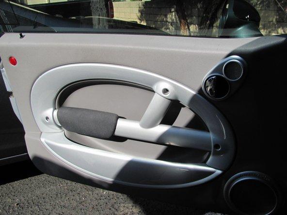 2001-2006 Mini Cooper Door panel Replacement
