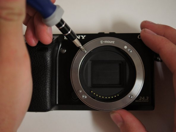 Sony NEX-7 Lens Mount Replacement