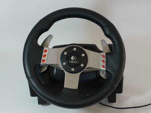 Disassembling Logitech G27 Steering Wheel