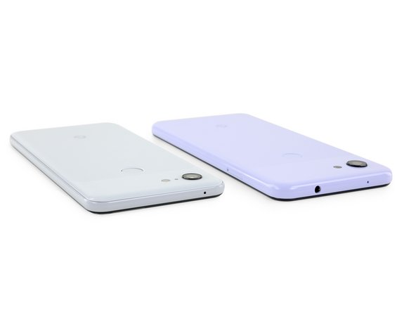 """The 3a looks very much like its older brother, the Pixel 3, but with fewer seams. Ours also came in a rather distinctive color, which Google dubs """"Purple-ish,"""" but which we dub """"Thanos Edition."""""""