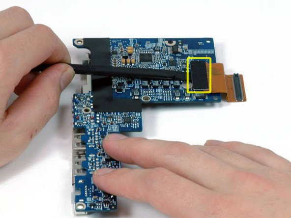 """MacBook Pro 17"""" Models A1151 A1212 A1229 and A1261 Left I/O Board Cable Replacement"""