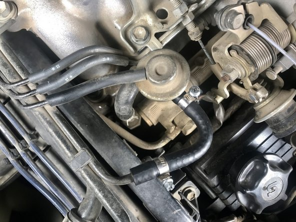 1989-1995 Toyota SR5 Pickup Fuel Return Line Replacement