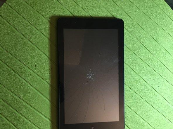 Sostituzione di touchscreen e vetro protettivo del Trekstor Surftab Breeze 7.0 plus