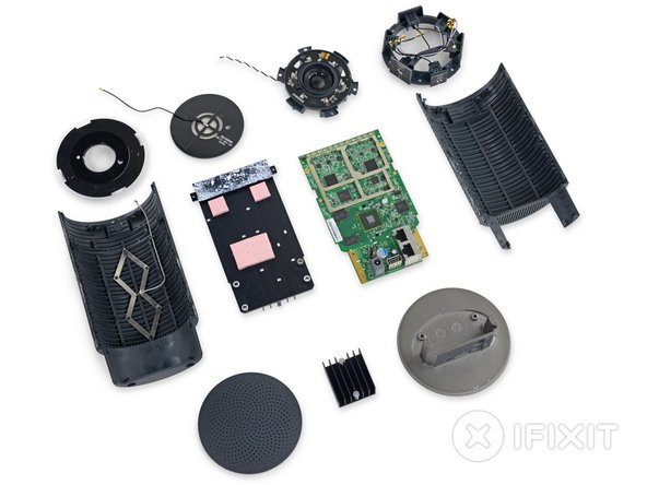 OnHub Repairability Score: 4 out of 10 (10 is easiest to repair)