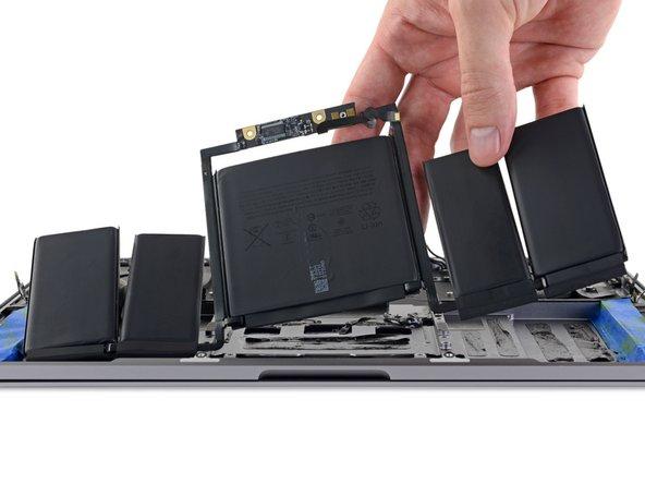 2017年款带 Touch Bar 的13寸 MacBook Pro 电池更换