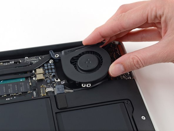 "MacBook Air 13"" Early 2015 Fan Replacement"