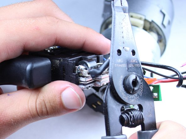 The following steps are for your new trigger assembly.