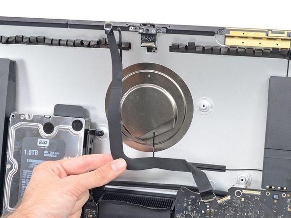 "iMac Intel 27"" EMC 2639 iSight iSight Kamera und Mikrofonkabel austauschen"
