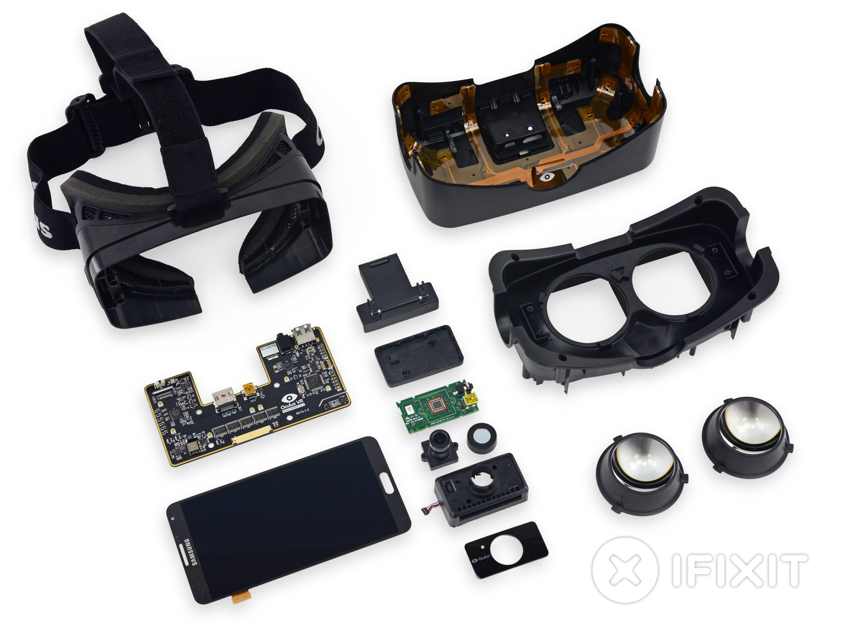 Oculus Rift Development Kit 2 Teardown