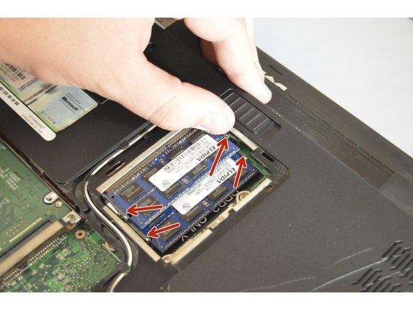 Removing RAM