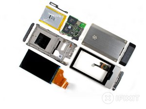 Microsoft Zune HD Teardown