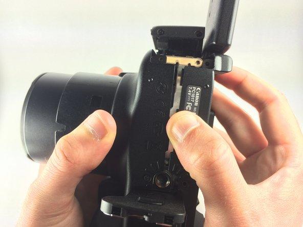 Canon PowerShot SX50 HS Rear Case Replacement