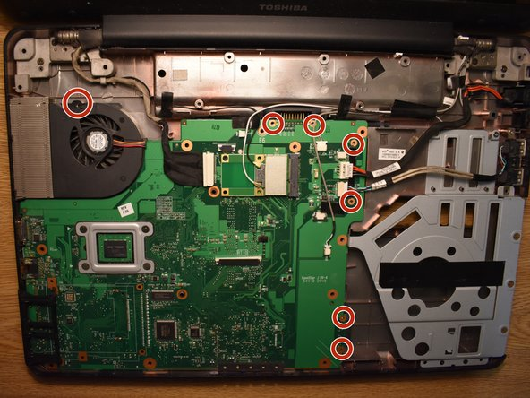 Toshiba Satellite L505 Laptop Motherboard Replacement