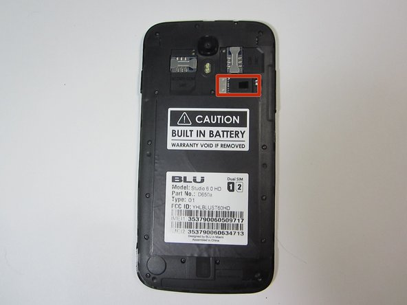 Blu Studio HD 6.0 MicroSD Card Replacement