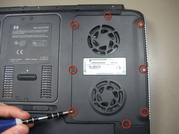 HP Pavilion ZD7000 Fans Replacement
