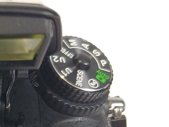 Nikon D7100 Dial mode button Replacement