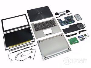 Asus Zenbook UX32VD Teardown