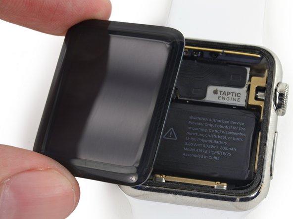 Remplacement de l'écran de l'Apple Watch