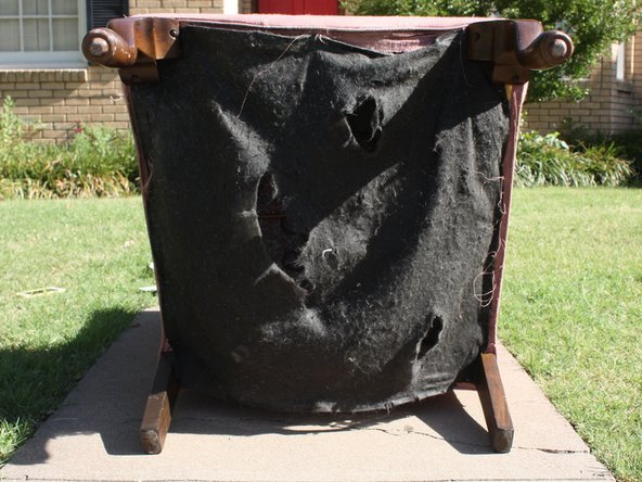 How to Replace Underside Fabric of a Chair