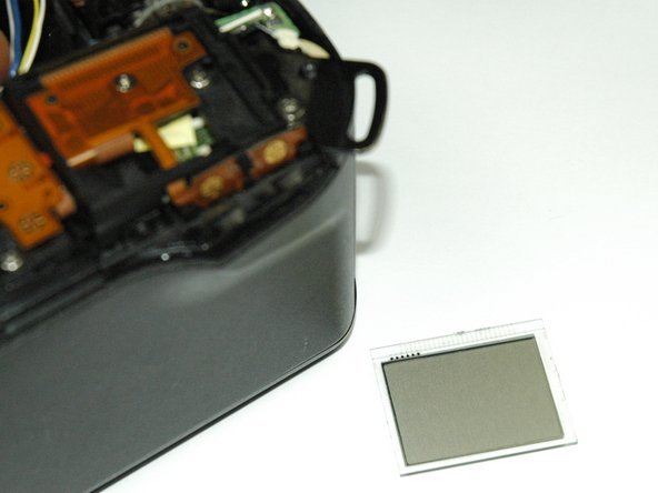 Canon EOS Rebel G LCD Screen Replacement