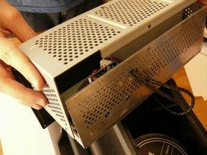 Detach the Behringer Eurolive B212D Electronics Box