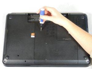 Disassembling HP Pavilion g7-2275dx Back Panel