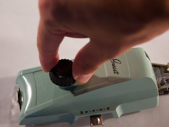 Adjusting the Adjusting Knob
