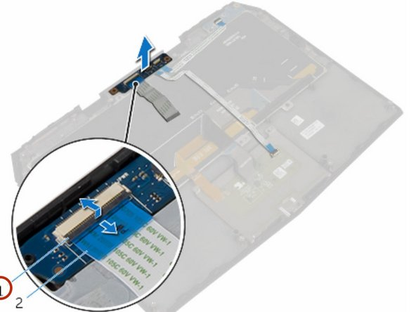 Dell Alienware 13 R2 Power-Button Board Replacement
