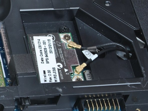HP Pavilion G6-1d16dx Wireless card Replacement