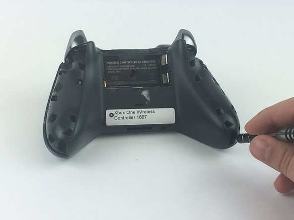 Removing the side handles allows access to remove the faceplate.