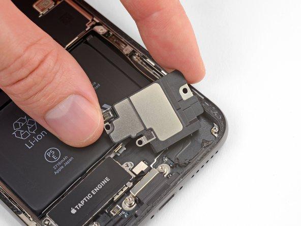 Reemplazo del altavoz inferior del iPhone X