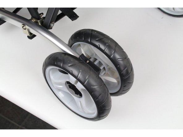 Summer 3D Lite Convenience Stroller Back Wheel Replacement