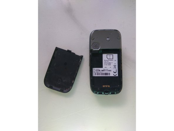 Sony Ericsson Z750i Disassembly