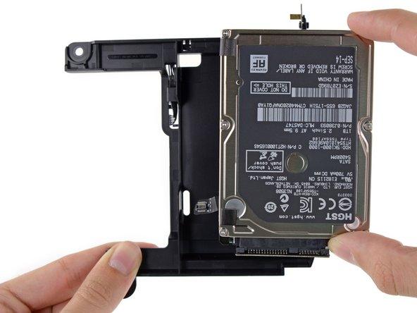 Mac mini Late 2014のハードドライブアセンブリの交換