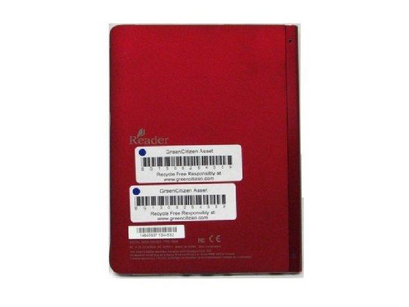 Remplacement du boitier arrière du Sony Reader Touch Edition PRS-600