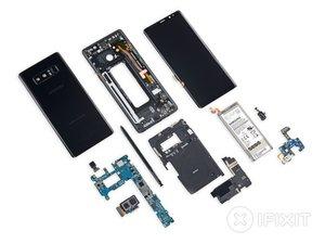 Smontaggio Galaxy Note8