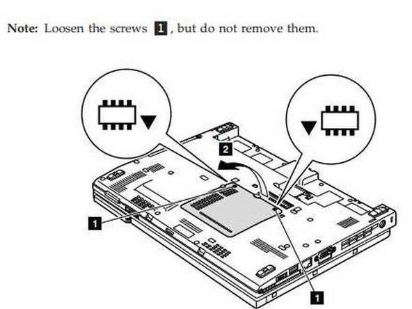 Lenovo X200 Memory Replacement