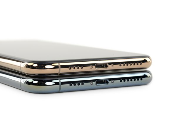 This year's iPhone adds a little extra material around the middle, and a lot around the cameras.