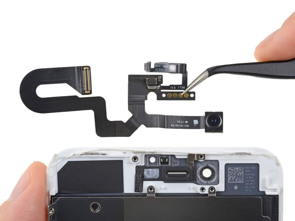 iPhone 8 Plus Front Camera and Sensor Cable Replacement