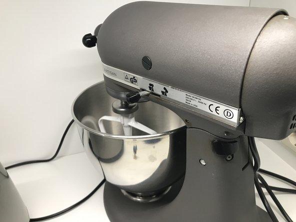 KitchenAid KSM150PSER Reparatur der Rührkopf-Verriegelung