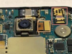 Nexus 5X Hauptplatine