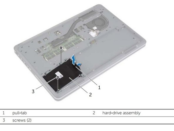 Dell Inspiron 15-7537 Hard Drive Replacement
