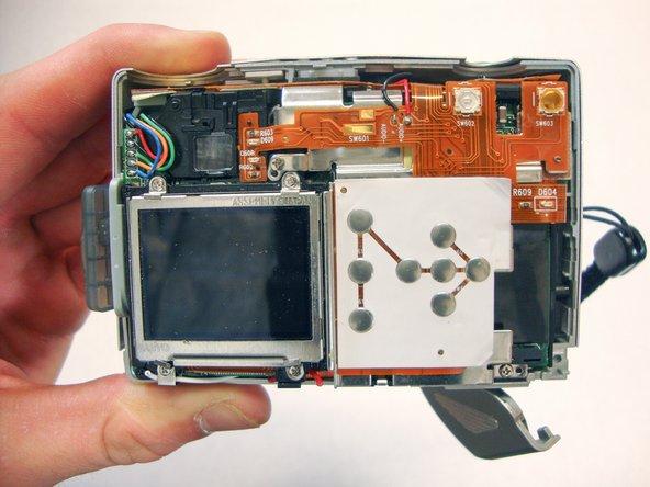 HP Photosmart 935 LCD Screen Replacement