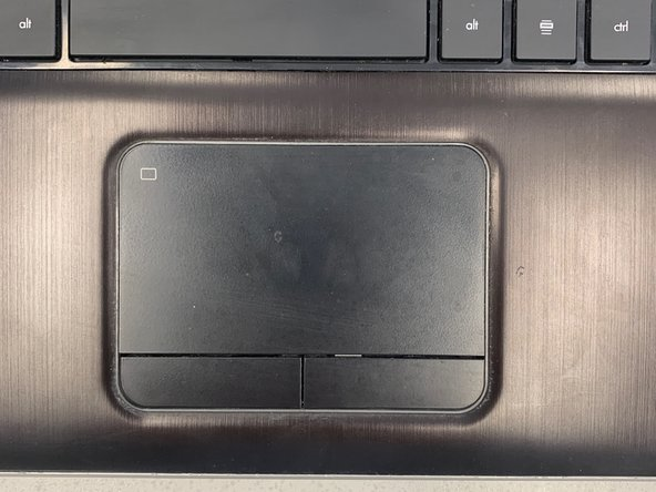 HP Pavilion dv7-6163us  Touchpad Replacement